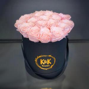 Розы в шляпной коробке #11