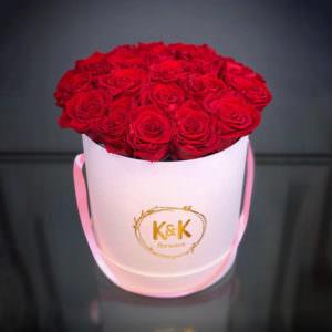 Розы в шляпной коробке #12