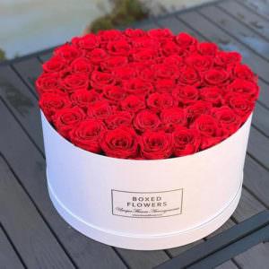 Розы в шляпной коробке #9